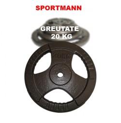 Greutate haltera 20 kg/31mm Hammerton Sportmann