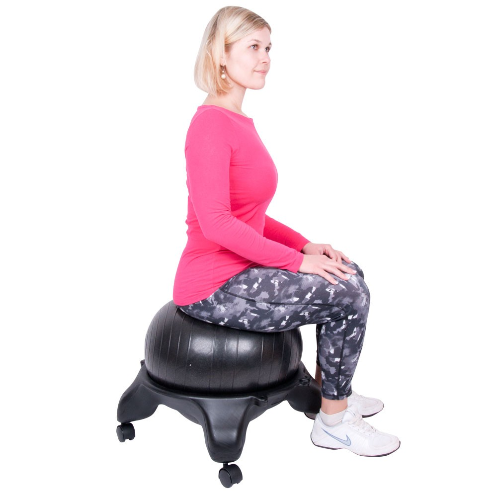 Scaun cu minge aerobic inSPORTline G-Chair Basic