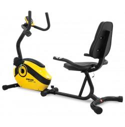 Bicicleta Magnetica Recumbent SCUD Swift H4 - Galben