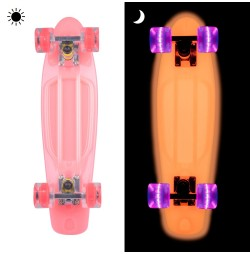 Pennyboard fosforescent WORKER Lumy 22''