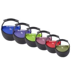 Set gantere neopren inSPORTline Bell-Bag 1-6 kg