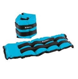 Saculeti cu greutati inSPORTline BlueWeight 2x2 kg