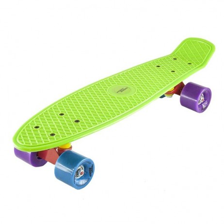 Penny board Basic Nils Extreme-verde