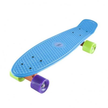 Penny board Basic Nils Extreme-albastru