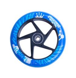 Roata trotineta FOX PRO Raw 110 mm- albastru-negru