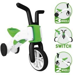 Tricicleta 2in1 Chillafish Bunzi - Verde