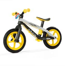 Bicicleta fara pedale Chillafish BMXie-RS-galbena