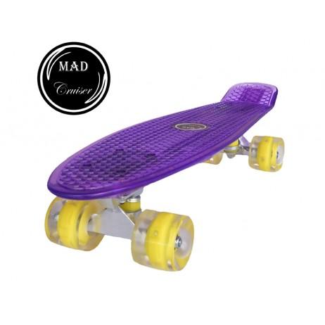 Penny board Mad Cruiser Full LED ABEC 7-mov
