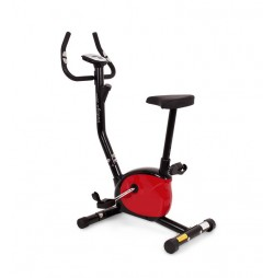 Bicicleta mecanica VINTAGE - negru/rosu