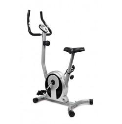 Bicicleta magnetica SMART - argintiu/negru