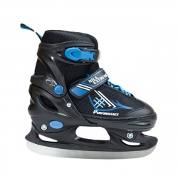 Nils Patine reglabile negru/albastru NH7104A