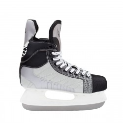 Nils Patine hockey negru/gri NH8552S