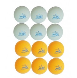 Set Mingi Tenis de Masa 40mm Double Fish 1 Stea
