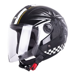Casca Moto W-TEC FS-715B Union Black