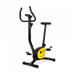 Bicicleta mecanica VINTAGE - negru/galben