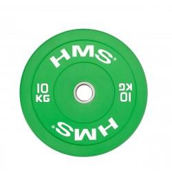 Greutate Bumper Plate HMS CBR10 10kg/51mm