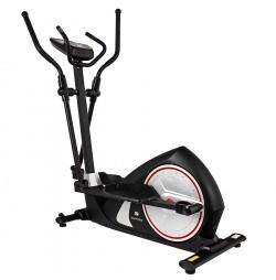 Bicicleta eliptica GALAXY II negru/rosu