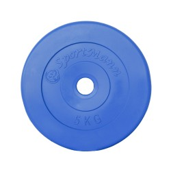 Greutate PVC 5kg/31mm Sportmann - albastru