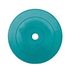 Greutate PVC 7.5kg/31mm Sportmann - verde