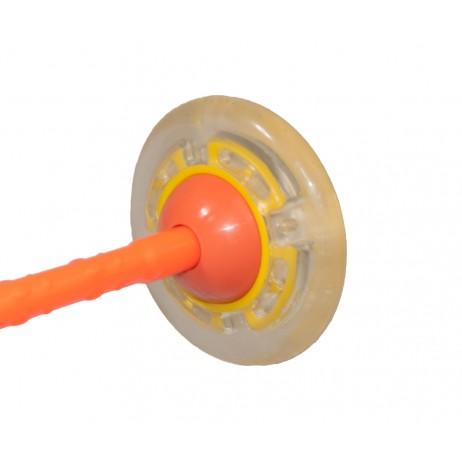 Roata pentru Sarit cu LED Sportmann - Oranj