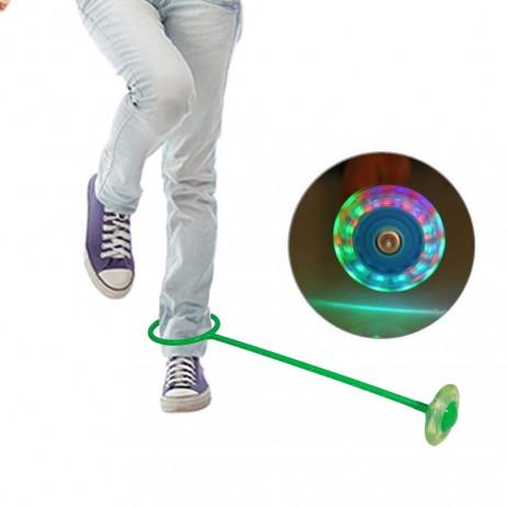 Roata pentru Sarit cu LED Sportmann - Verde