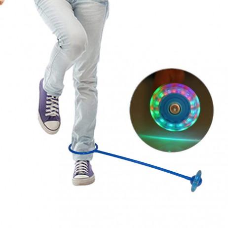 Roata pentru Sarit cu LED Sportmann - Albastru