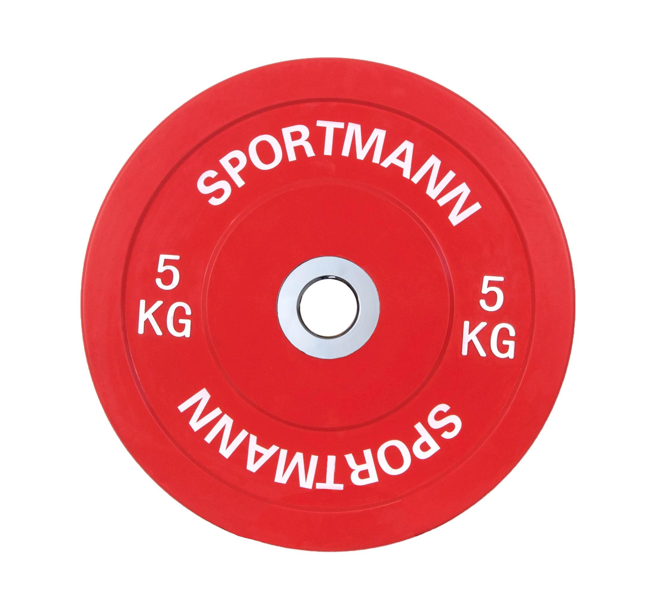 Disc Greutate Cauciuc - 5 kg / 51 mm