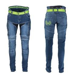 Pantaloni Moto Jeans Femei W-TEC Ekscita