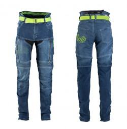 Pantaloni Moto Jeans Barbati W-TEC Grandus