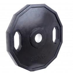Greutate Cauciucata SPORTMANN Rubberton 25 kg/51 mm
