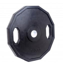 Greutate Cauciucata SPORTMANN Rubberton 20 kg/51 mm