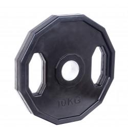 Greutate Cauciucata SPORTMANN Rubberton 10 kg/51 mm