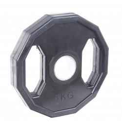 Greutate Cauciucata SPORTMANN Rubberton 5 kg/51 mm