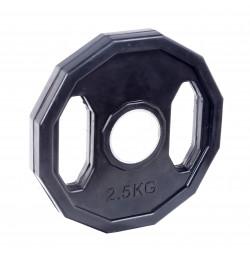 Greutate Cauciucata SPORTMANN Rubberton 2.5 kg/51 mm