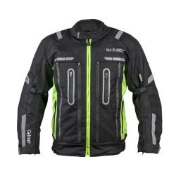 Geaca Moto W-TEC Gelnair - Negru/Verde