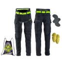 Pantaloni Moto Barbati W-TEC Aredator