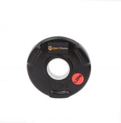 Greutate cauciucata Sportmann Deluxe 1.25 kg/ 51mm