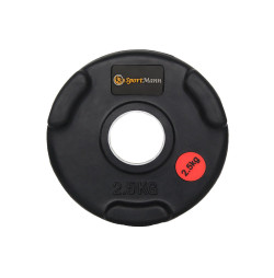 Greutate cauciucata Sportmann Deluxe 2.5 kg/51mm