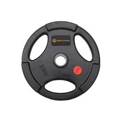 Greutate cauciucata Sportmann Deluxe 20 kg/51mm