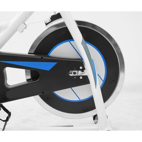 Bicicleta Indoor Cycling SCUD GT-705 - Alb, resigilat