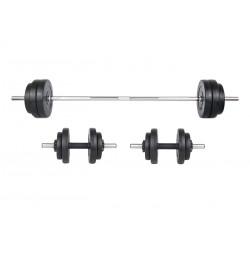 Set haltera si gantere Sportmann 50 kg