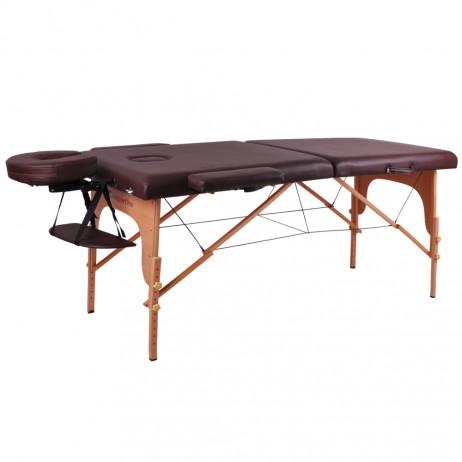 Masă din lemn pentru masaj inSPORTline Taisage, pliabilă