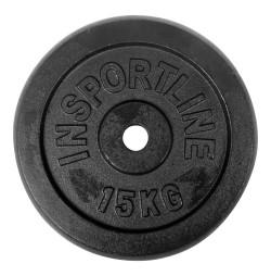 Disc Greutate Otel inSPORTline15 kg/30 mm