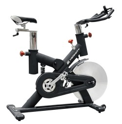 Bicicleta indoor cycling inSPORTline Steelflex XS-02