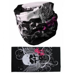 Bandana Multifunctionala MTHDR Skull Pink
