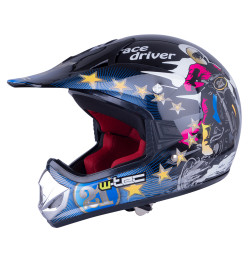 Cască Motocross Juniori W-TEC V310