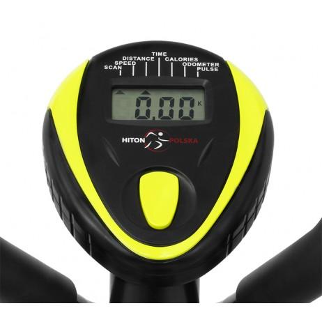 Bicicleta eliptica Hiton Ocelot- negru/galben