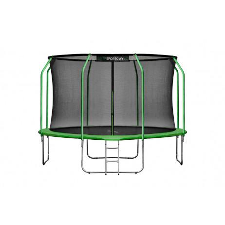 Trambulina Set Hiton 374 cm, verde