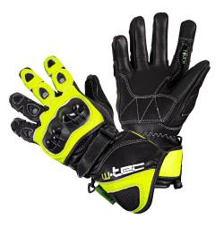 Motorcycle Gloves W-TEC Supreme EVO- negru-verde