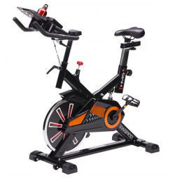 Bicicleta indoor cycling HMS SW2102 Negru/Portocaliu